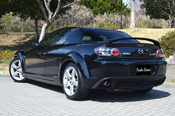 RX 8 TypeS〈black〉 / Sports Car Open Car Specialized For Rental Cars  OMOSHIRO RENT A CAR