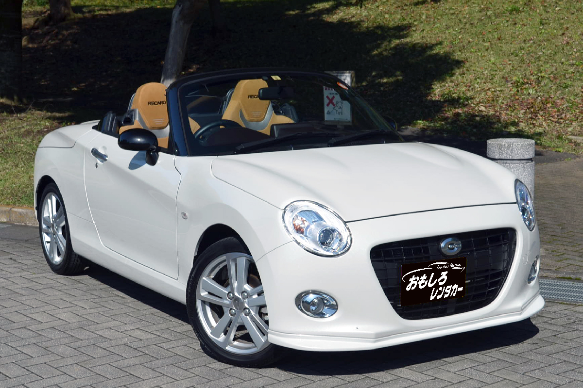 daihatsu copen cero s sports car open car specialized for rental cars omoshiro rent a car. Black Bedroom Furniture Sets. Home Design Ideas