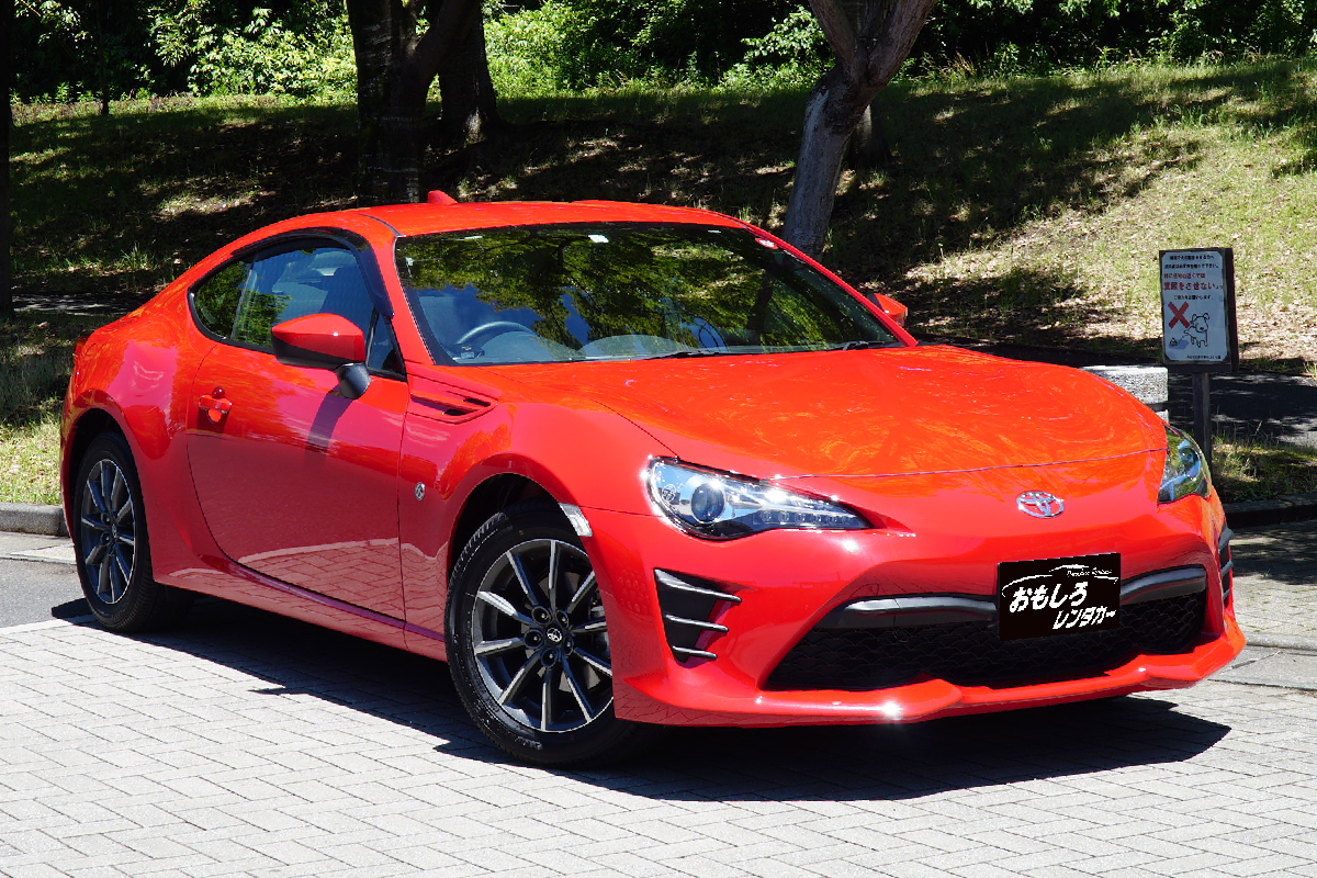 Sports car open car specialized for rental cars OMOSHIRO