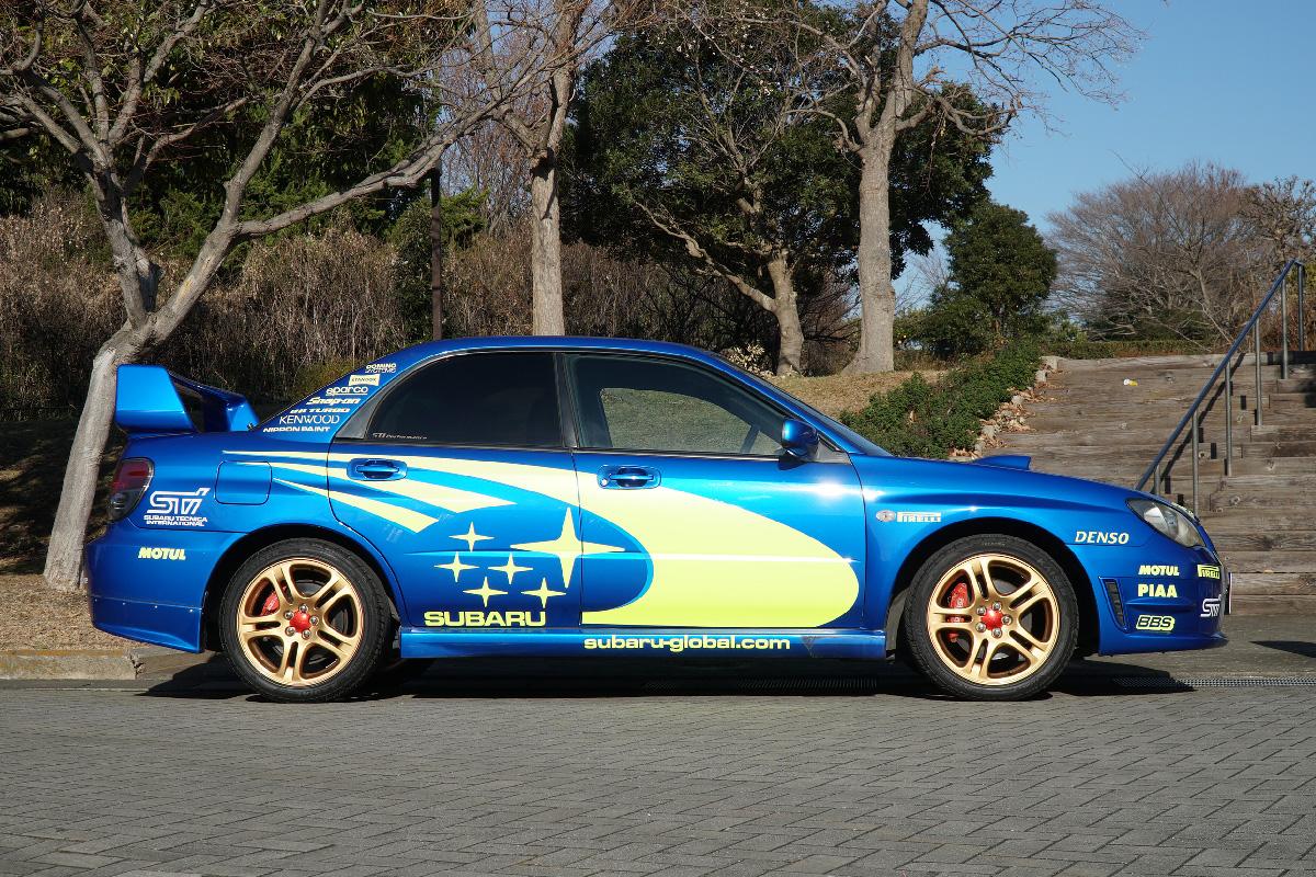 IMPREZA WRX〈Blue/GDA〉 / Sports car open car specialized